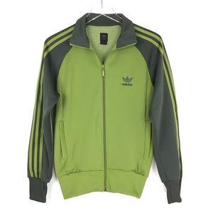 Adidas Originals two tone track suit full zip XS